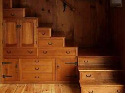 Лестница деревянная №11