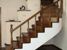 Лестница деревянная №12