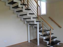 Лестница- изготовление металлического каркаса
