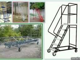 Лестница металлическая передвижная от Производителя.