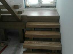 Лестницы деревянные. Лестницы деревянные на заказ Киев и. ..