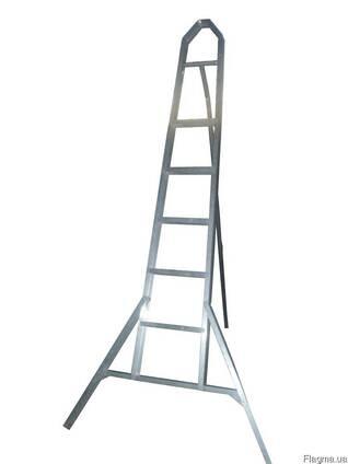 Лестница садовая алюминиевая, лестница тринога