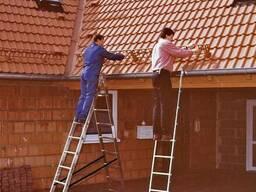 Лестница-стремянка универсальная трёхсекционная Krause 3х8