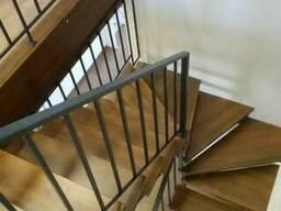 Лестница в стиле лофт, хай-тек - изготовление под ключ