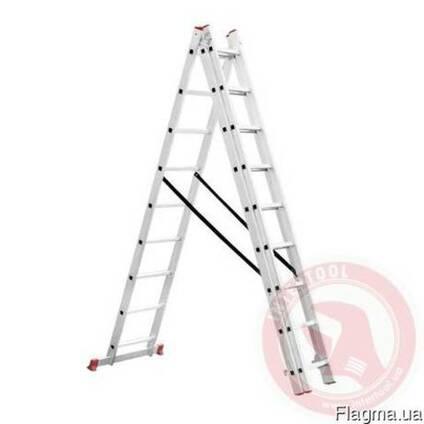 Лестница з-х секционная 8-9 ступеней