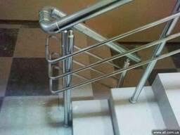 Лестничные ограждения, алюминиевые перила