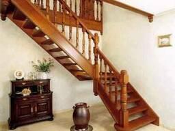 Лестницы деревянные - фото 1