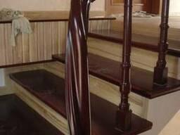 Лестницы деревянные (массив Ясень)
