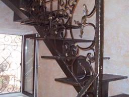 Лестницы металлические и кованные перила. Одесса