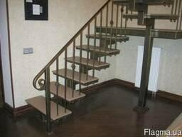 Лестницы металлические винтовые и маршевые изготовление !!! - фото 1