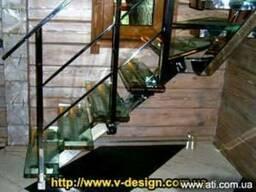 Лестницы, ограждения различных видов и конфигураций