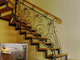Лестницы, перильные и балконные ограждения, перилы. . .