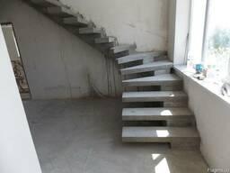 Лестницы (Сходи) из бетона - фото 5