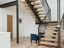 Лестницы винтовые маршевые перила