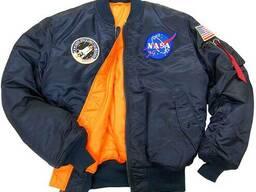 Летная куртка NASA MA-1 Flight Jacket Alpha Industries