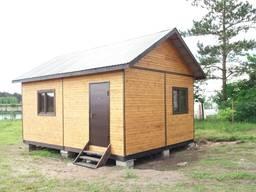 Летний домик, дачный домик, садовый домик, бытовки хозблоки