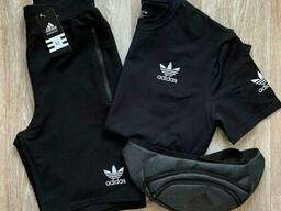 Летний мужской спортивный костюм Adidas (копия). Мужской. ..