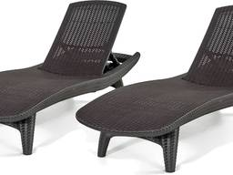Лежак-шезлонг Keter Pacific Sun Lounger 2 Pack
