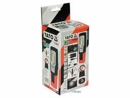 Ліхтар світлодіодний акумуляторний YATO Li-Ion 3. 7 В 1. 1 Агод 2 Вт 200 лм