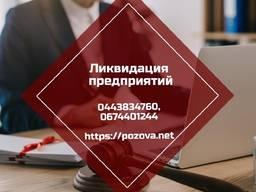 Ліквідація фірми в Києві за 24 години.