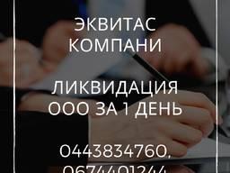 Ликвидация ООО за 1 день. Помощь в ликвидации предприятия Днепр
