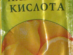Лимонная кислота 20 гр. ТМ Таперс.