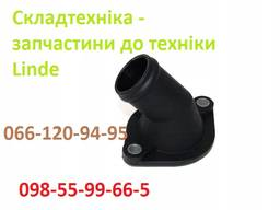 Linde 3501051501 - фланец системы охлаждения погрузчик Linde