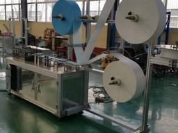 Высокоскоростные линии производства трехслойных масок автома
