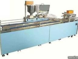 Линия для производства бисквитных изделий типа мишки барни.