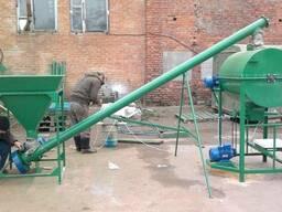 Линия для производства сухих строительных смесей производит