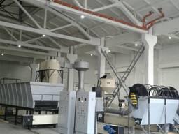 Лінія гранулювання відходів виробництва