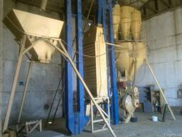 Линия по гранулированию соломы на базе пресса ОГМ-1,5