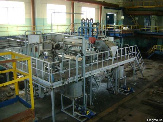 Технологическая линия по переработке золы теплоэлектростанци