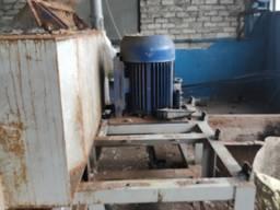 Линия по переработке пленочных и твердых полимеров