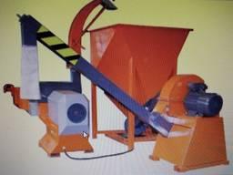 Линия по производству топливного брикета из отходов древесин