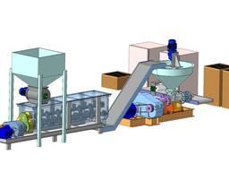 Конвейера , линия подготовки сырья для брикетирования