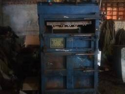 Линия, преcс по переработке мусора