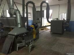 Линия производства брикетов 500 кг б/у