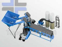Линия производства пеллет до 600 кг/ч или до 900 кг/ч. Линия гранулирования. ..