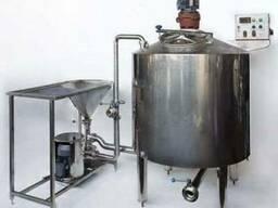 Линия производства сгущёного молока из сухого молока