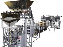 Линия жарки, фасовки и упаковки сыпучих продуктов АЛЖУС-140