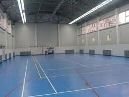 Линолеум в спорт зал. Спортивный линолеум Gerflor(Франция)