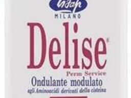 Lisap Milano Delise 1D Лосьон для химической завивки для жестких волос 250мл 16