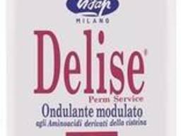 Lisap Milano Delise 1F Лосьон для химической завивки для тонких волос 250мл 16