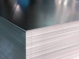 Лист стальной рифленый 6. 0*1000*4000 чечевица
