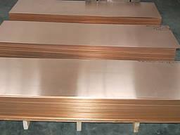 Лист, плита, шина М1м, М1т, М2 δ= 2-120мм.
