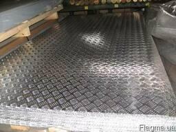 Лист алюминиевый 3 мм 1х2 1050 рифлкупить гост цена