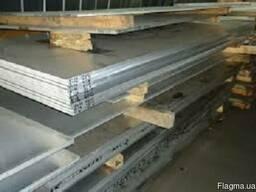 Алюминиевая Дюралевая плита Д16 (2024) 10х1200х3000 мм.
