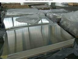 Лист алюминиевый 6082 Т6 4х1000х2000мм