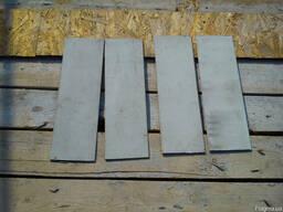 Лист алюминиевый размер 4 х147х462мм мар. АД0. Остаток 4шт